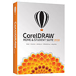 CorelDRAW Home & Student Suite 2018 Corel Layout-Programme (PC-Software)