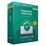 Kaspersky Anti-Virus 2019 Upgrade (Product-Key-Karte) Kaspersky Antivirus (PC-Software)