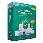 Kaspersky Total Security 2019 Upgrade - Key für 3 Geräte (PC/Mac/Android/iOS) Kaspersky