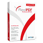 SoftMaker FlexiPDF Professional 2019 für bis zu 3 PCs SoftMaker PDF-Generatoren (PC-Software)