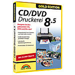 Markt + Technik CD/DVD Druckerei 8.5 Gold Edition, für Windows Vista/7/8/8.1/10 Markt + Technik Druckvorlagen & -Softwares (PC-Softwares)