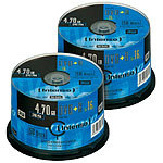 Intenso DVD+R 4.7GB 16x, 100er-Spindel Intenso DVD-Rohlinge