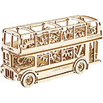 "Wooden City Kinetisches 3D-Holzpuzzle ""London Bus"", ohne Klebstoff 3D-Holz-Puzzles"