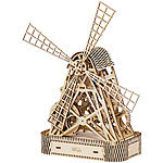 "Wooden City Kinetisches 3D-Holzpuzzle ""Windmühle"", ohne Klebstoff 3D-Holz-Puzzles"