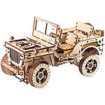 "Wooden City Kinetisches 3D-Holzpuzzle ""Jeep 4x4"", ohne Klebstoff 3D-Holz-Puzzles"