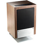 Stevenson & Brown Audio Systems HiFi-Holz-Lautsprecher MSX-660 mit Subwoofer, Bluetooth 2.1, 100 Watt Stevenson & Brown Audio Systems Standlautsprecher mit Bluetooth