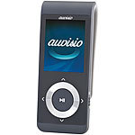 auvisio MP4-Player DMP-320.pm mit Pedometer, Bluetooth, Radio & Video auvisio MP3- & Video-Player mit Bluetooth und Pedometer