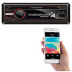 Creasono MP3-RDS-Autoradio CAS-3300.bt mit USB, SD, BT & Freisprecher Creasono Bluetooth-Autoradios (1-DIN)