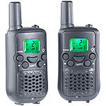 simvalley communications 2er-Set Walkie-Talkies mit VOX-Funktion und 5 km Reichweite simvalley communications Walkie-Talkies