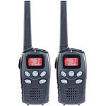 simvalley communications 2er-Set Profi-Walkie-Talkies, bis 10km, VOX, Akkus (Versandrückläufer) simvalley communications Walkie-Talkies