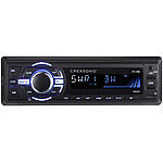 Creasono MP3-Autoradio, Bluetooth, Freisprechfunktion, RDS, 2x USB, SD, 4x 50 W Creasono Bluetooth-Autoradios (1-DIN)