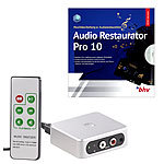 auvisio Autarker Audio-Digitalisierer mit Software Audio Restaurator Pro 10 auvisio Audio-Rekorder & Digitalisierer Stand-Alone