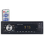 PEARL MP3-Autoradio mit Bluetooth, Freisprech-Funktion, USB & SD, 4x 45 Watt PEARL Bluetooth-Autoradios (1-DIN)