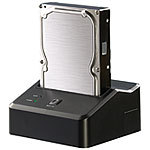 "Xystec USB-3.0-Dockingstation DSU-3200 Duo für 2,5""- & 3,5""-SATA-HDDs Xystec Festplatten Dockingstations"