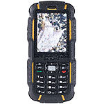 simvalley MOBILE Dual-SIM-Outdoor-Handy mit Walkie-Talkie XT-980 simvalley MOBILE Dual-SIM Outdoor-Handys mit Walkie-Talkie-Funktion