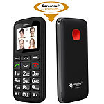 simvalley MOBILE Komfort-Handy XL-915 V2 mit Garantruf & Ladestation simvalley MOBILE Notruf-Handys