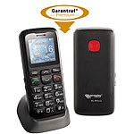 simvalley MOBILE Komfort-Handy XL-915 V2 mit Garantruf & Ladestation simvalley MOBILE