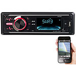 Creasono MP3-Autoradio mit DAB+, Bluetooth, Freisprecher, USB & SD, 4x 50 Watt Creasono DAB+ Autoradios mit Bluetooth & MP3