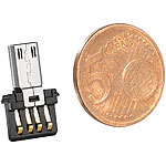 Merox Ultrakompakter USB-OTG-Adapter Merox Mini-USB-OTG-Adapter