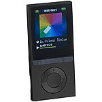 auvisio MP3-Player V3 mit UKW-Radio & E-Book-Reader, microSD, Bluetooth 2.1 auvisio Video- und MP3-Player mit Bluetooth
