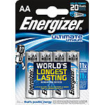 Energizer Ultimate Mignon Lithium-Batterie AA Mignon 1,5 V 4er-Pack Energizer Lithium-Batterien Mignon (AA)