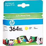 hp Original Tintenpatrone CB325EE (No.364), yellow XL hp Original HP-Tintenpatronen