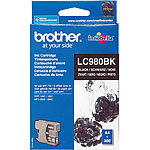 Brother Original Tintenpatrone LC980BK, black Brother Original-Tintenpatronen für Brother-Tintenstrahldrucker