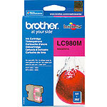 Brother Original Tintenpatrone LC980M, magenta Brother Original-Tintenpatronen für Brother-Tintenstrahldrucker