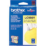 Brother Original Tintenpatrone LC980Y, yellow Brother Original-Tintenpatronen für Brother-Tintenstrahldrucker
