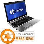"hp Elitebook 8560p, 15,6"", Core i7, 256 GB SSD, Win 7 (generalüberholt) hp Notebooks"