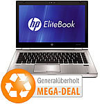 "hp EliteBook 8460p, 35,6 cm (14""), Core i5-2520M, 250 GB(generalüberholt) hp Notebooks"