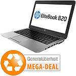 "hp EliteBook 820 G1, 31,8 cm/12,5"", Core i5, 256 GB SSD (generalüberholt) hp Notebooks"