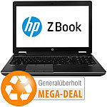 "hp ZBook 15, 39,6 cm/15.6"", Core i7, 32 GB, 256 GB SSD (generalüberholt) hp Notebooks"