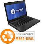 "hp ProBook 6470b, 35,6 cm / 14"", Core i3, 4 GB, 320 GB (generalüberholt) hp Notebooks"