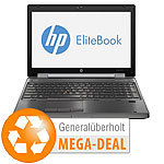 "hp EliteBook 8570w, 39,6 cm/15,6"", Corei7, SSD (generalüberholt, 2. Wahl) hp Notebooks"