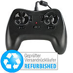 "Simulus USB-Flugsimulator-Joystick ""RC-4500"" für PC (refurbished) Simulus Game Controller"