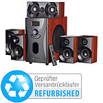 auvisio Home-Theater Surround-Sound-System 5.1, MP3, 80 W (Versandrückläufer) auvisio 5.1 Surround-Lautsprecher-Systeme