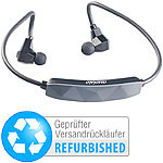 auvisio Wasserdichtes Sport-Headset mit Bluetooth 4.0, aptX (refurbished) auvisio Wasserdichte In-Ear-Headsets mit Bluetooth