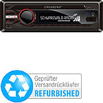 Creasono MP3-RDS-Autoradio CAS-3300BT USB / SD / Bluetooth (Versandrückläufer) Creasono Bluetooth-Autoradios (1-DIN)