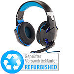 Mod-it Beleuchtetes Gaming-Headset Versandrückläufer Mod-it Over-Ear-Gaming-Headsets mit Beleuchtungen