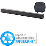 auvisio Stereo-Soundbar mit Bluetooth,  USB-Audioplayer (Versandrückläufer) auvisio Soundbars mit Bluetooth und USB-Audioplayer