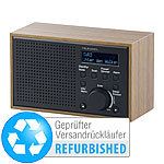 VR-Radio Digitales DAB+/FM-Radio mit Wecker, LCD-Display (Versandrückläufer) VR-Radio Digitale DAB+/FM-Radios mit Wecker