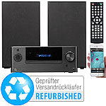 auvisio Mini-HiFi-System mit DVD-/CD-/Media-Player (Versandrückläufer) auvisio Mini-Stereo-Anlagen mit DVD-/CD-/Media-Player, Bluetooth & Radios