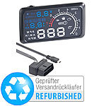 Head-up-Display mit Bluetooth HUD-55C.bt für OBD (refurbished) Head-up-Displays mit Bluetooth