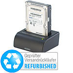 "Xystec USB-Docking-Station für 2,5""- & 3,5""-SATA-Festplatten (refurbished) Xystec Festplatten-Dockingstationen"