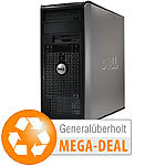 Dell Optiplex 755, Intel Core 2 Duo, 160 GB HDD, DVD,Win 7(generalüberholt) Dell Computer