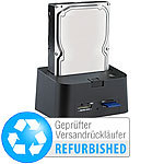 "Xystec USB-HDD-Station ""FD-400Twin"" 2,5"" & 3,5"" SATA (Versandrückläufer) Xystec Festplatten-Dockingstationen"