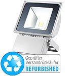 Luminea Wetterfester LED-Fluter, 70 W, IP65, warmweiß (Versandrückläufer) Luminea Wasserfeste LED-Fluter (warmweiß)