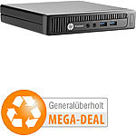 hp ProDesk 600 G1 MP, Core i5-4590T, 4 GB, 500 GB HDD (generalüberholt) hp Computer