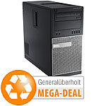 Dell OptiPlex 9020MT, Core i7, 16 GB, 256 GB SSD, Win 10 (generalüberholt) Dell Computer